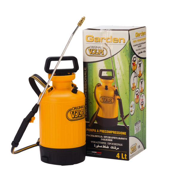 Pompa a pressione Garden 4L Volpi