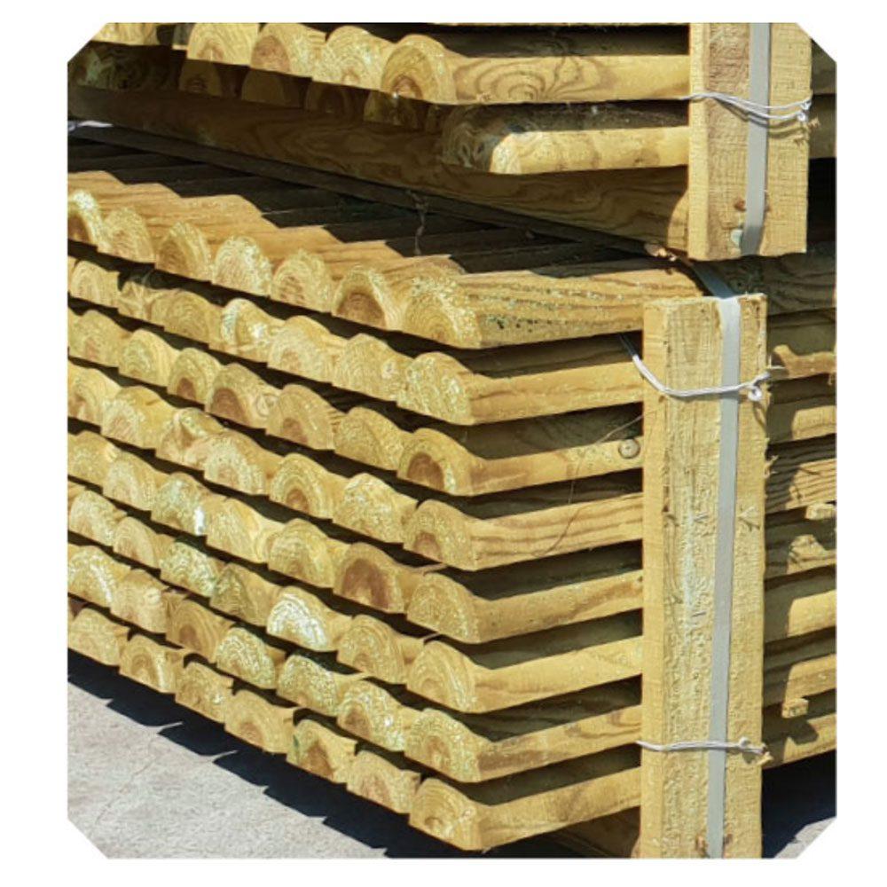 Mezzi pali torniti Holz Brenz
