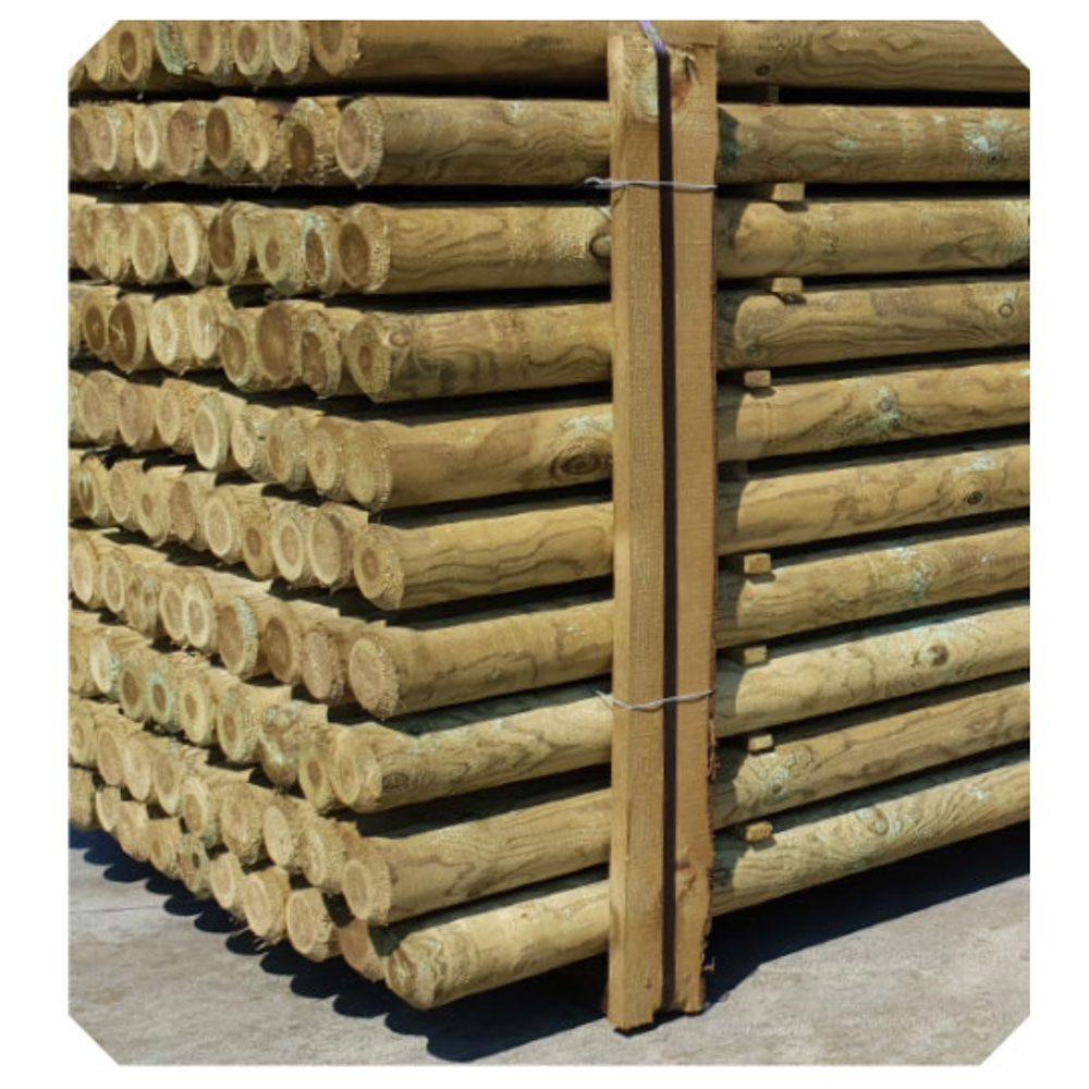 Pali in pino senza punta Holz Brenz