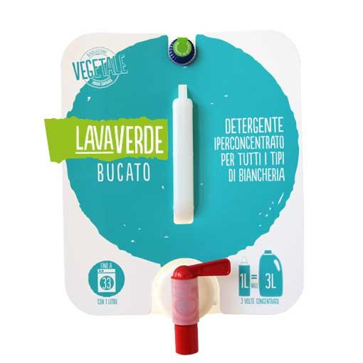 Lavaverde Bucato Detergente iperconcentrato per tutti i tipi di biancheria