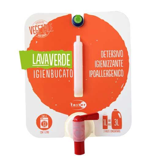 Lavaverde Igienbucato Detergente igienizzante ipoallergenico