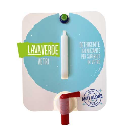 Lavaverde Vetri Detergente igienizzante per superfici in vetro